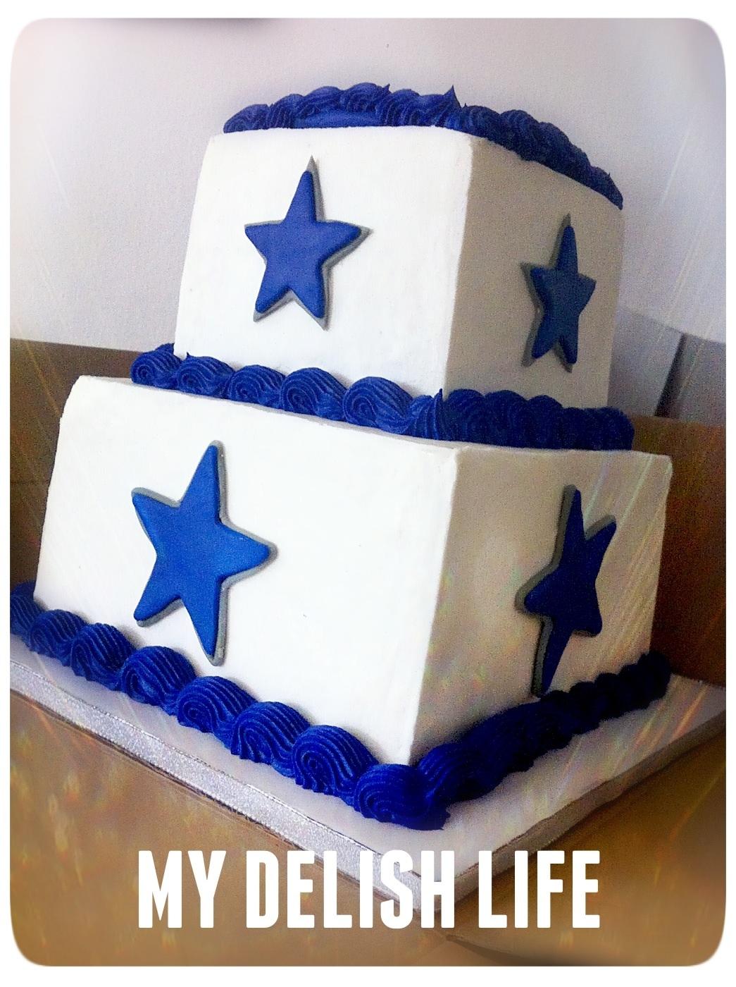 Cowboys Cake Football Cake Dallas Cowboys Cake