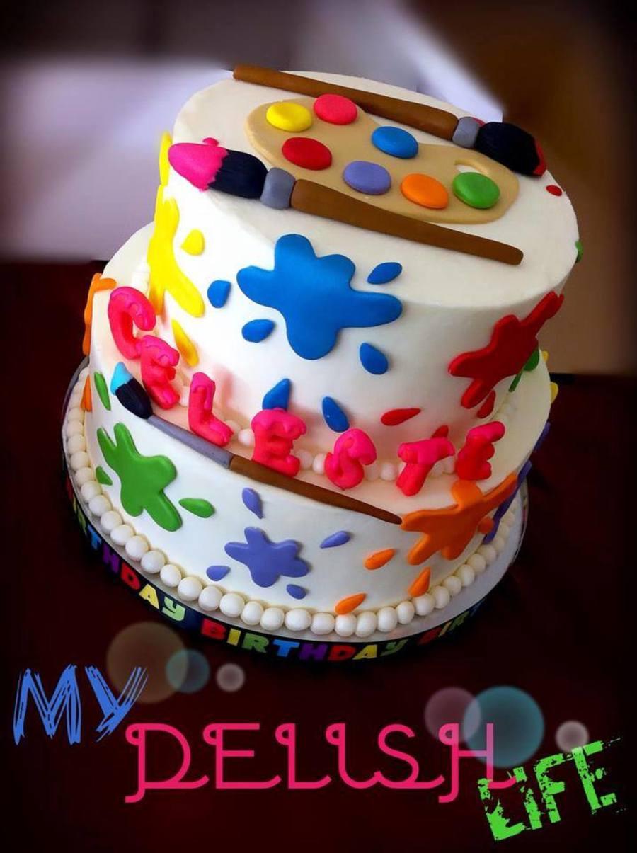Artist Cake Cakecentral Com