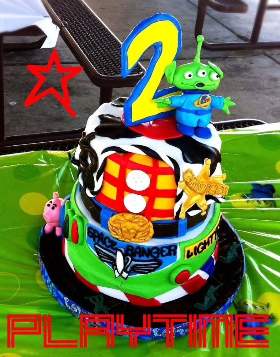 Toy Story Cake Like Amp Follow Me Httpwwwfacebookcommydelishlife on Cake Central