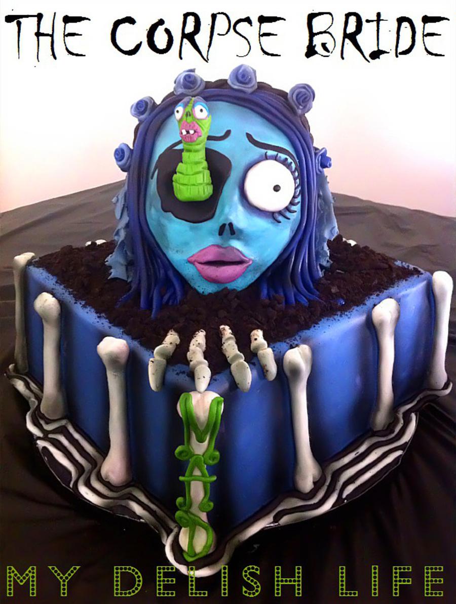 The Corpse Bride Cake CakeCentralcom