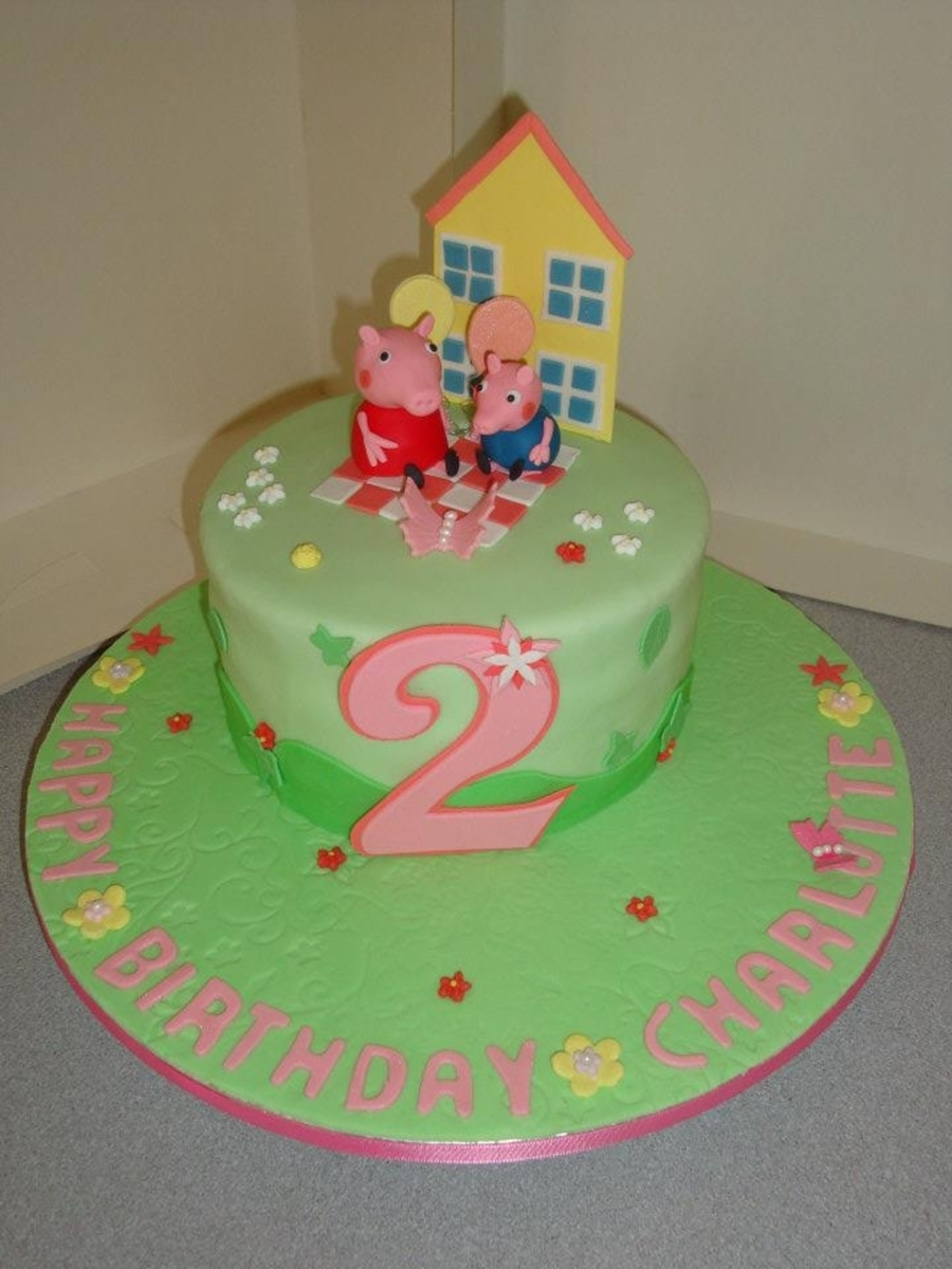 Peppa Pig Birthday Cake Cakecentral
