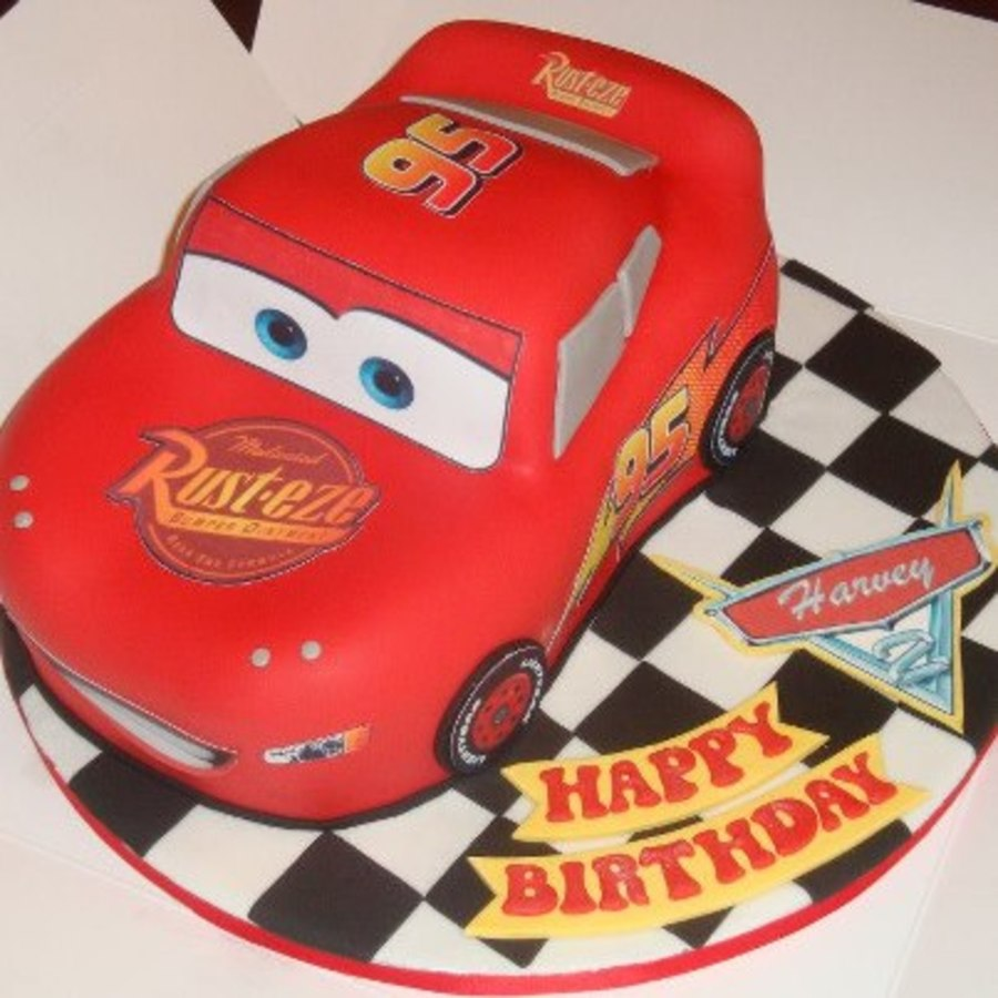 Lightening Mcqueen Birthday Cake on Cake Central