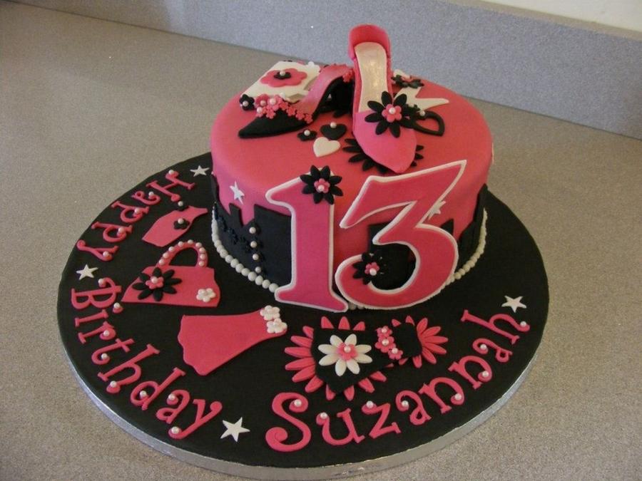 13Th Birthday Cake On Central