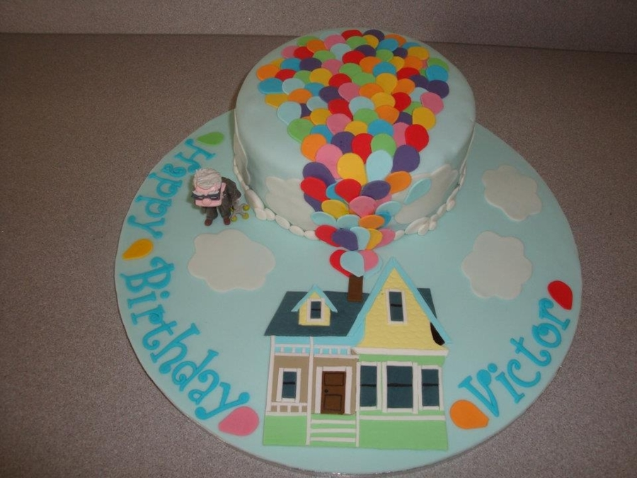 Up Themed Birthday Cake Cakecentral