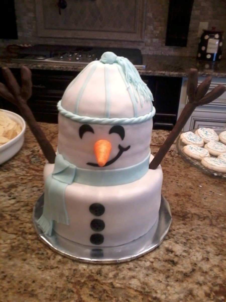 Snowman on Cake Central