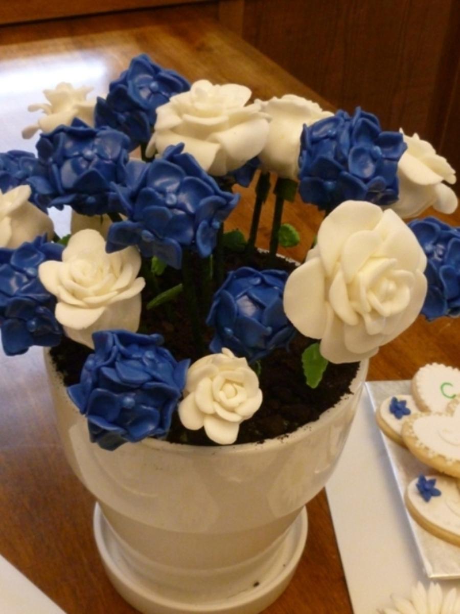 Cake Pop Bouquet - CakeCentral.com