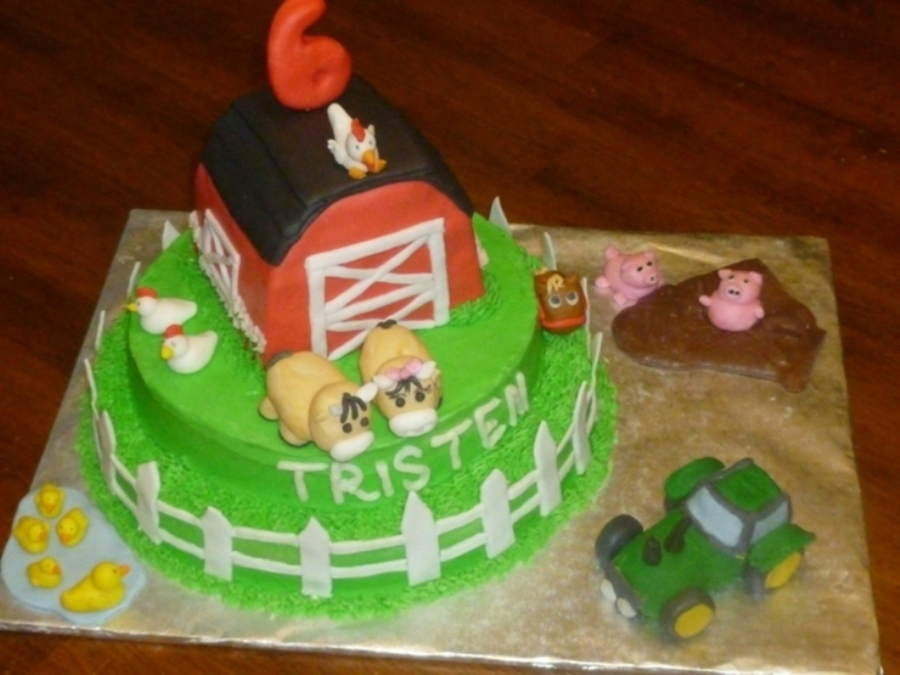 Down On The Farm on Cake Central