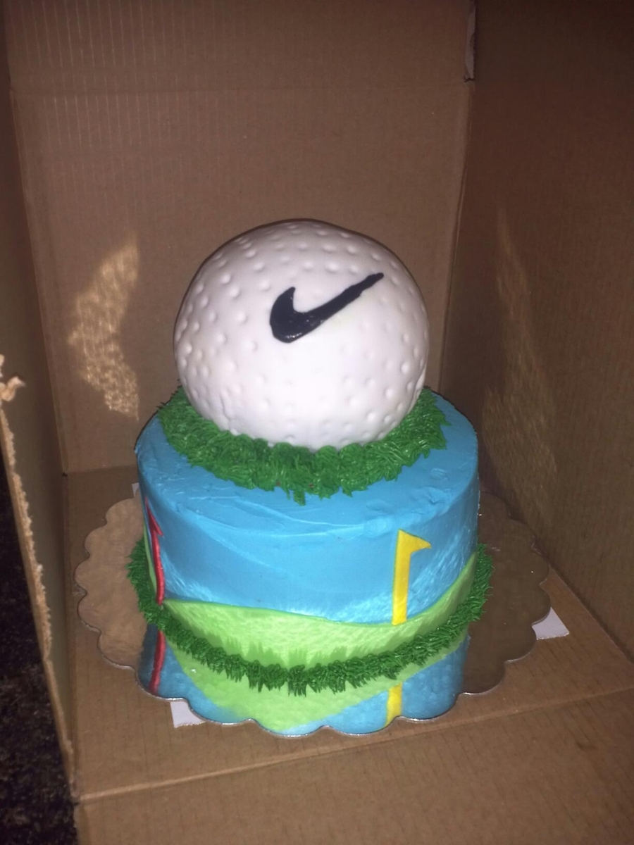 Golf Ball Cake on Cake Central