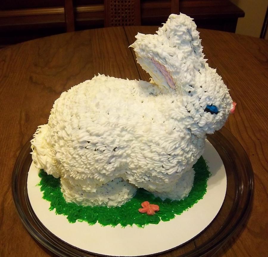 D Bunny Cake Pan
