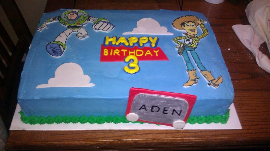 Toy Story Birthday on Cake Central