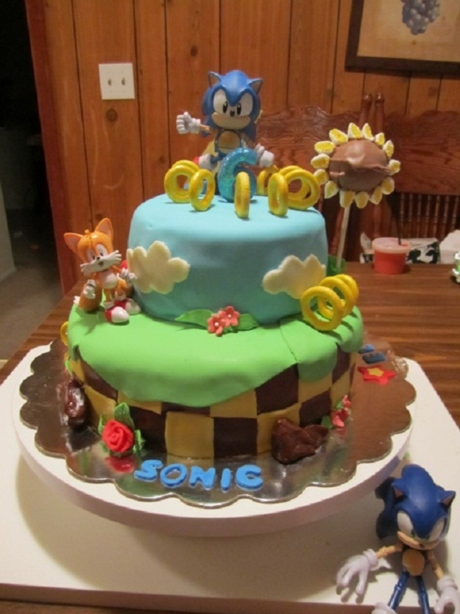 Sonic The Hedgehog on Cake Central