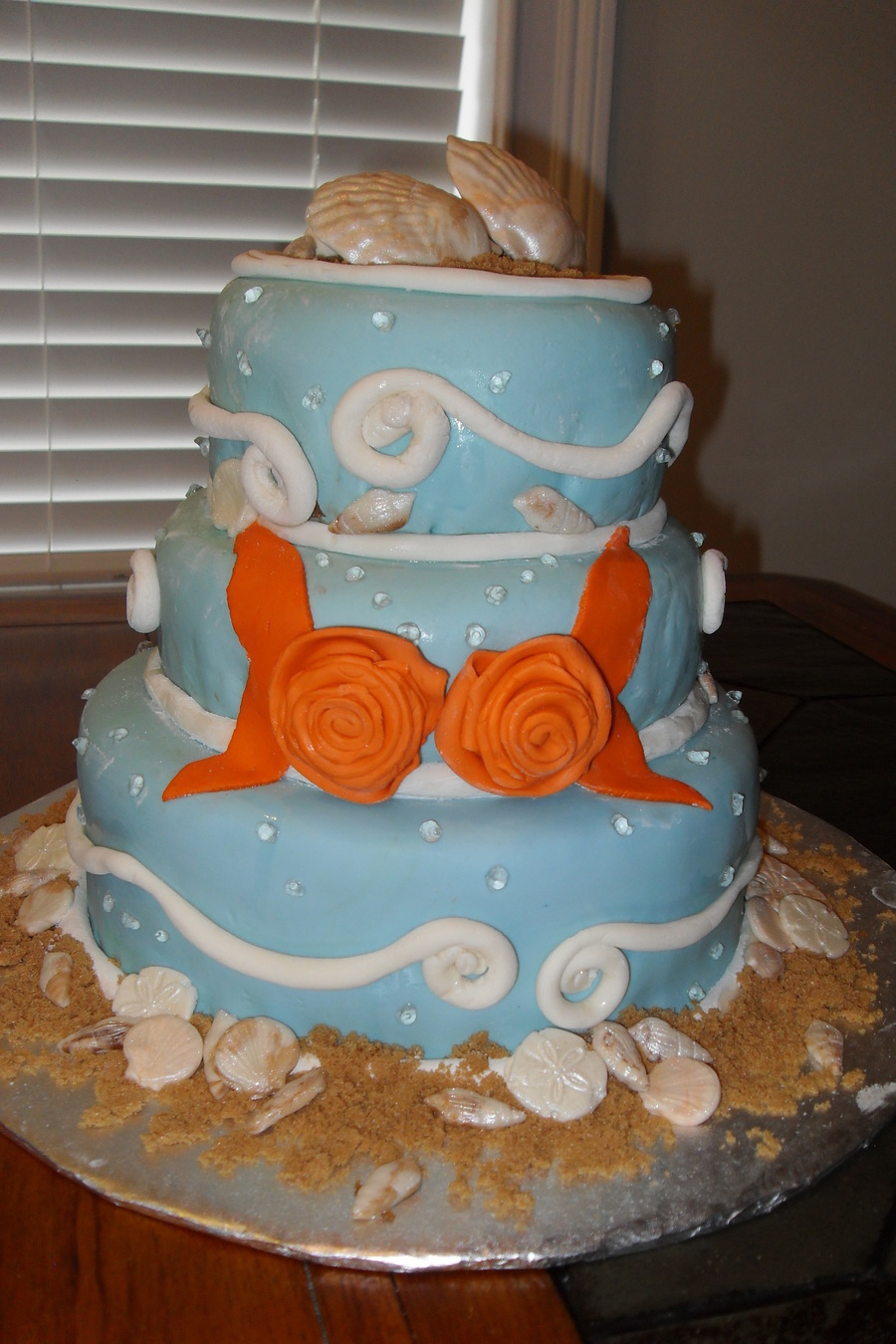 Sunset Wedding On The Beach At Destin Florida on Cake Central