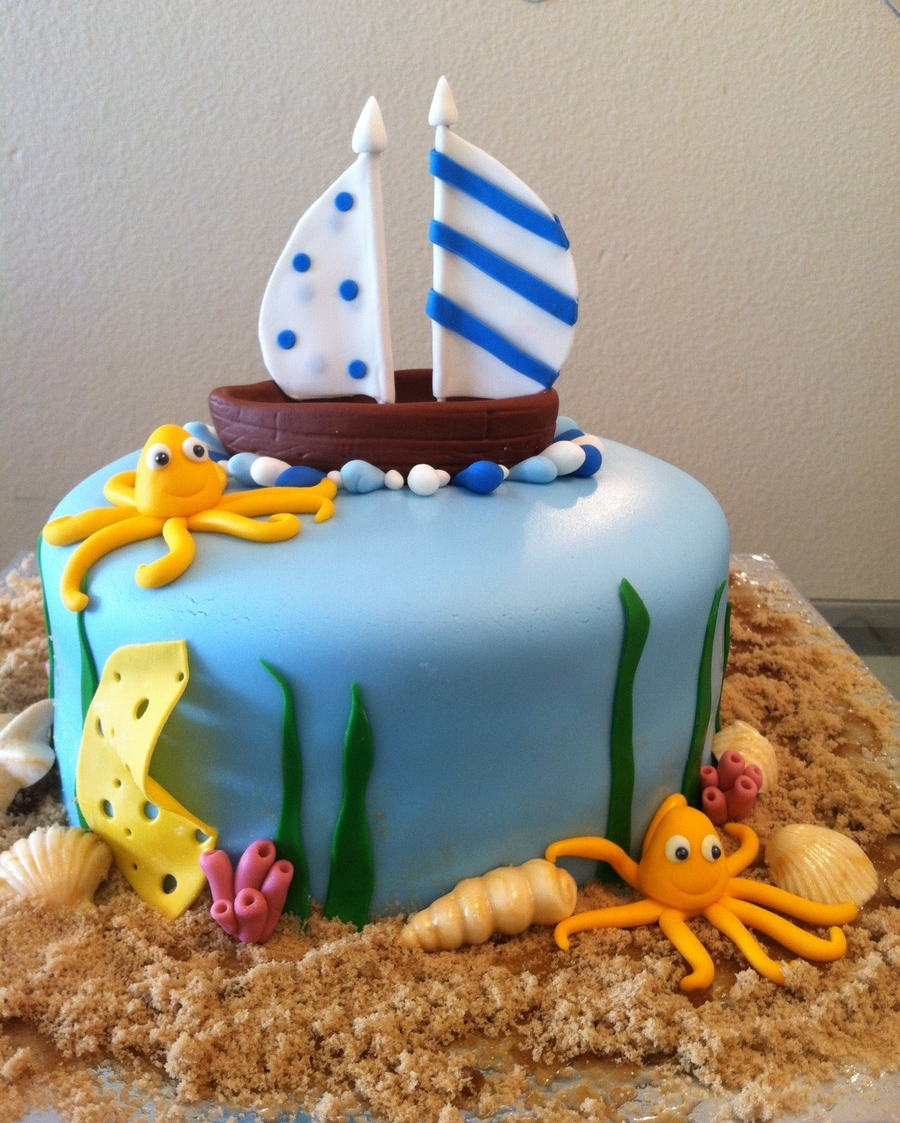 My Son's 4 Th Birthday Cake. on Cake Central