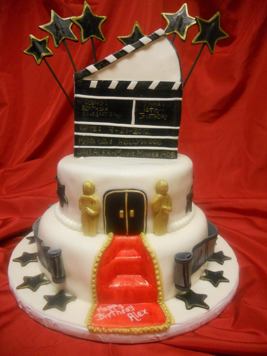 Hollywood Theme on Cake Central