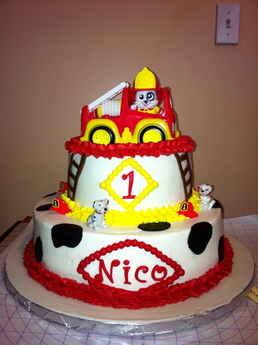 Fireman on Cake Central