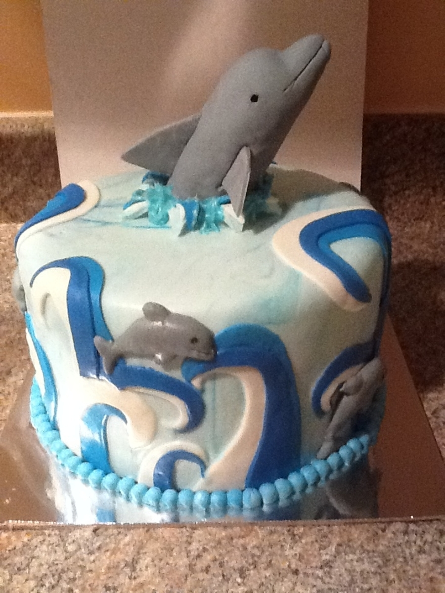 Dolphin on Cake Central