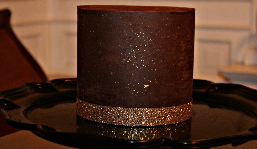 Ganache Covered Chocolate Cake on Cake Central
