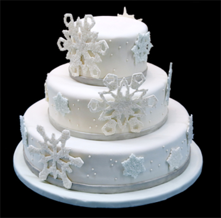 Winter Themed on Cake Central