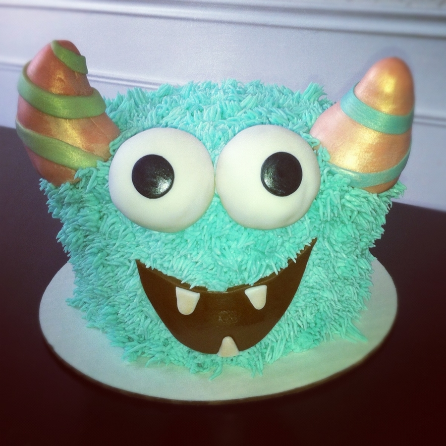 Monster Smash Cake on Cake Central