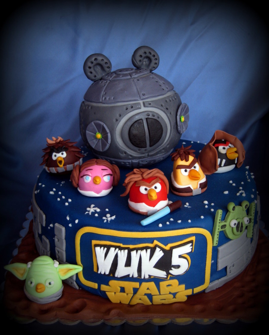 Angry Birds Star Wars Cake Cakecentral Com
