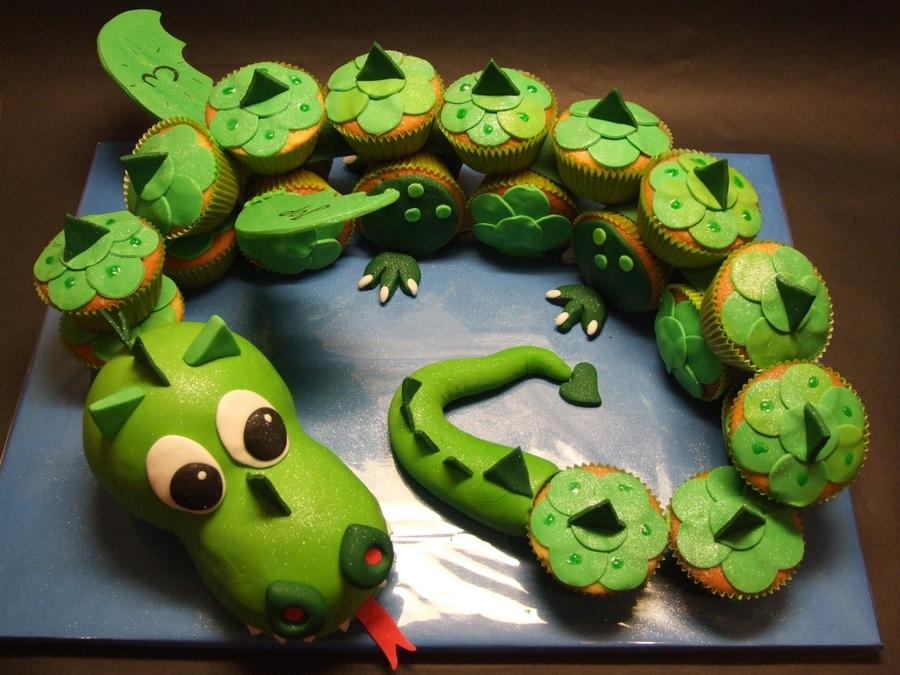 Cupcake Dragon Cakecentral Com