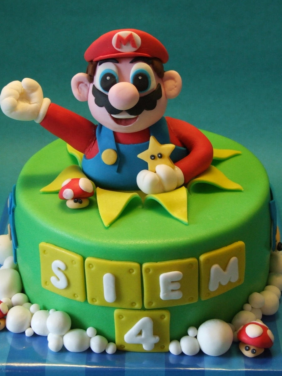Mario And Sonic on Cake Central