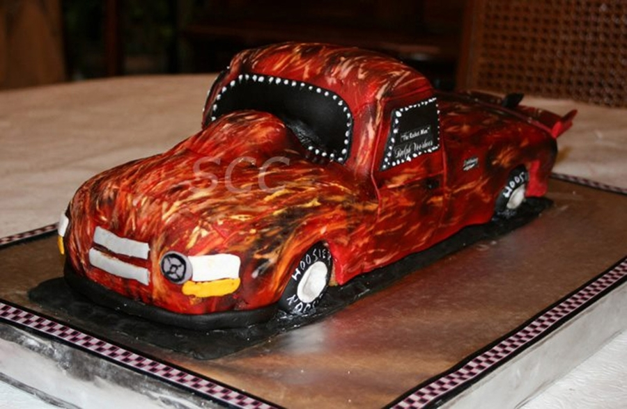 Race Truck Cake on Cake Central