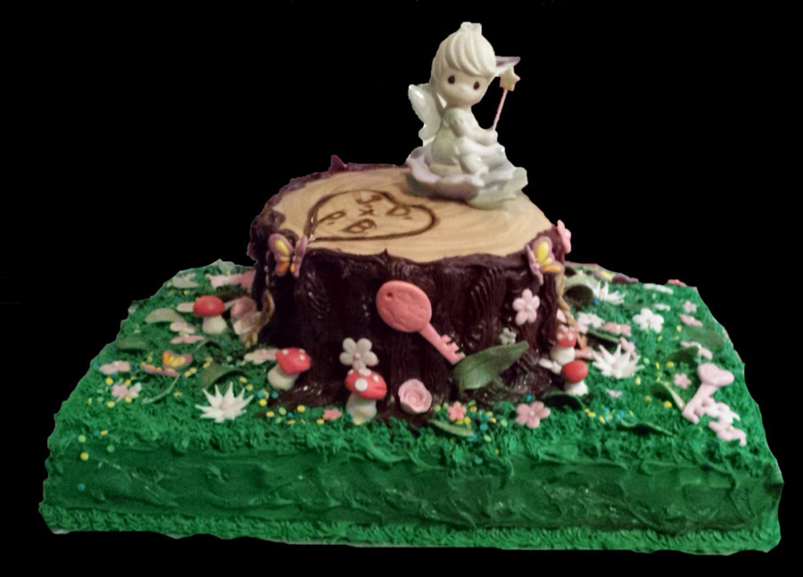 Fairy Cake Icing Recipe Uk: Bridal Shower Fairy Cake Chocolate Cake Cannoli Cream