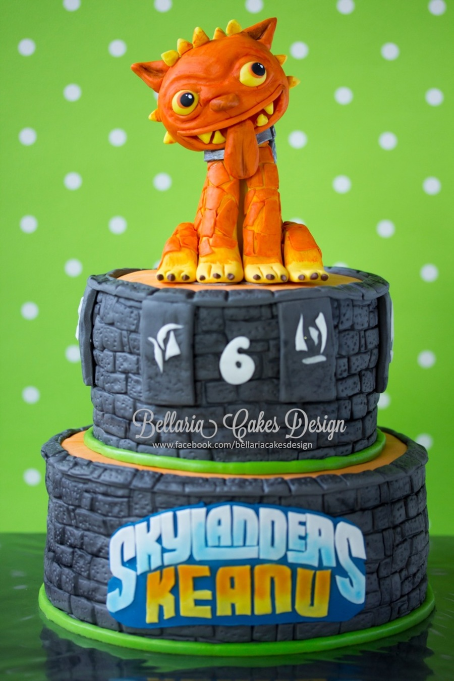 Skylander Hotdog Cake I Had A Lot Of Fun Making This Birthday Cake I