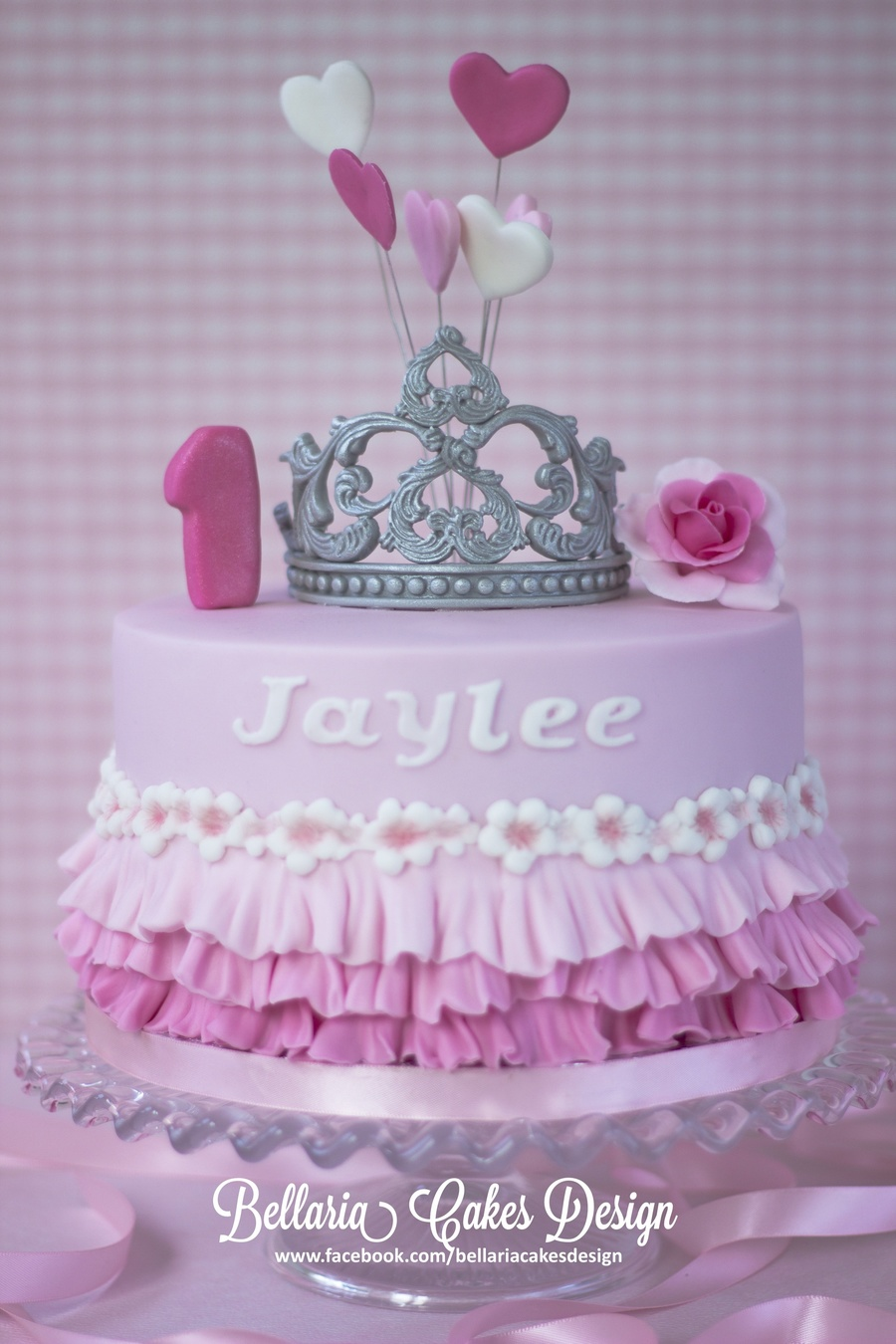 Tiara First Birthday Cake Cakecentral