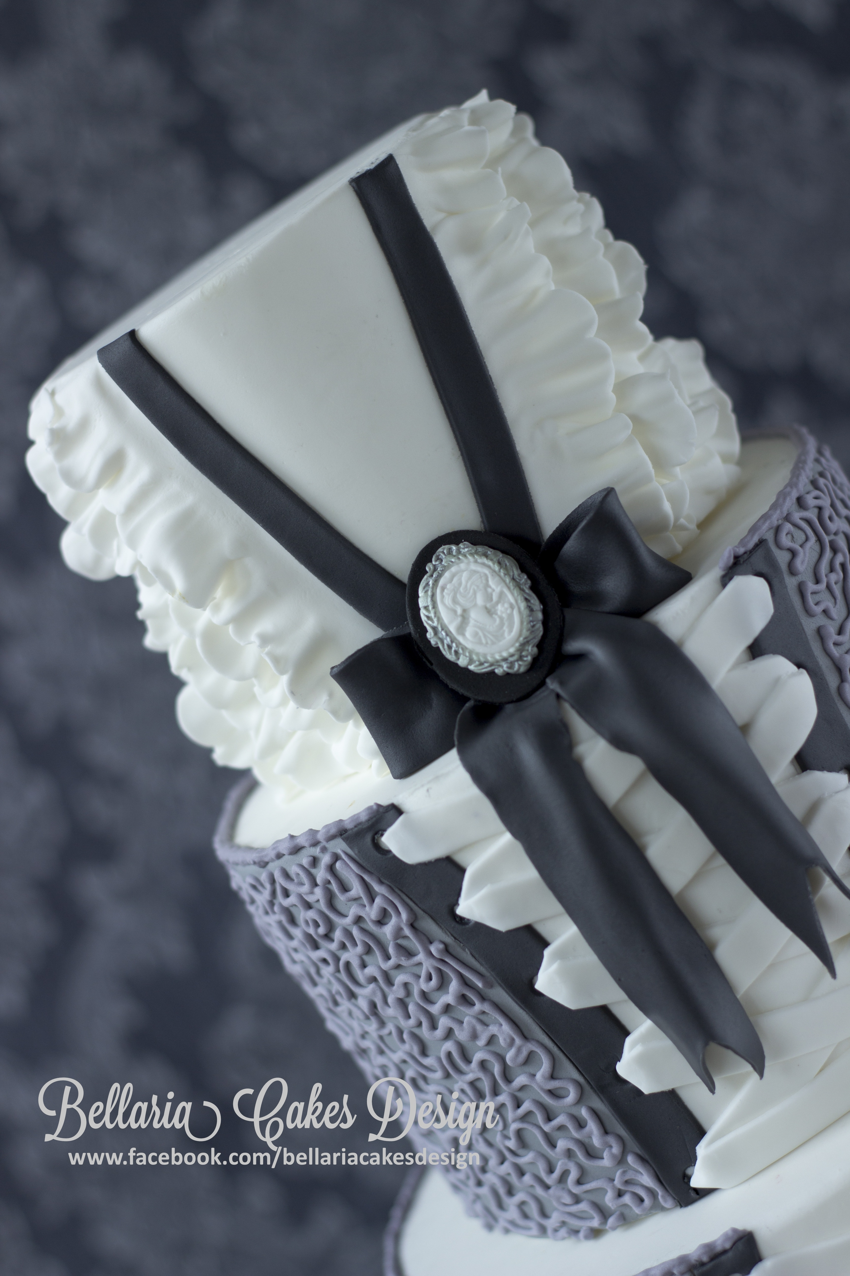 How To Make Cornelli Lace On A Cake