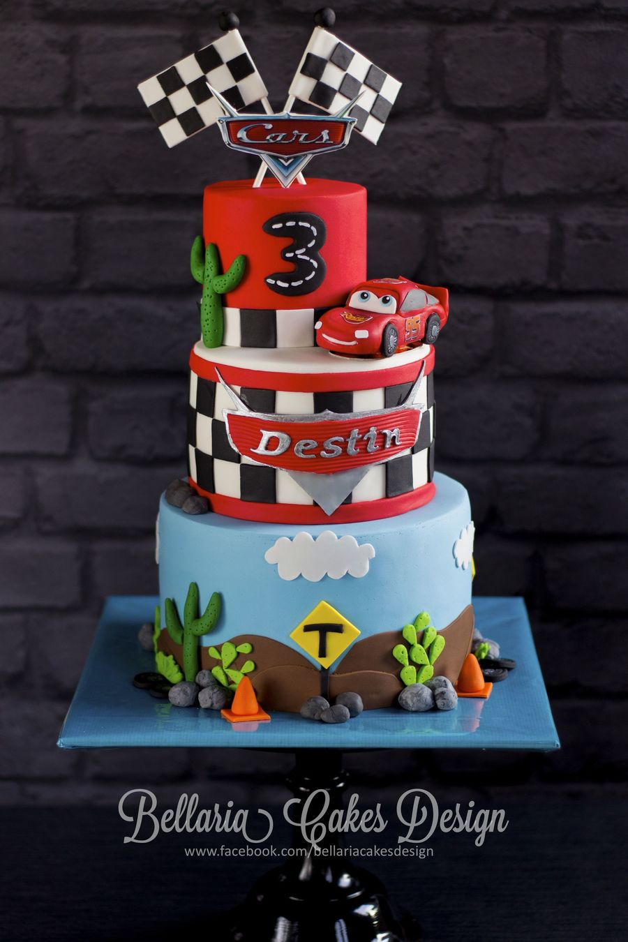 Disney Pixar Cars Birthday Cake Ideas