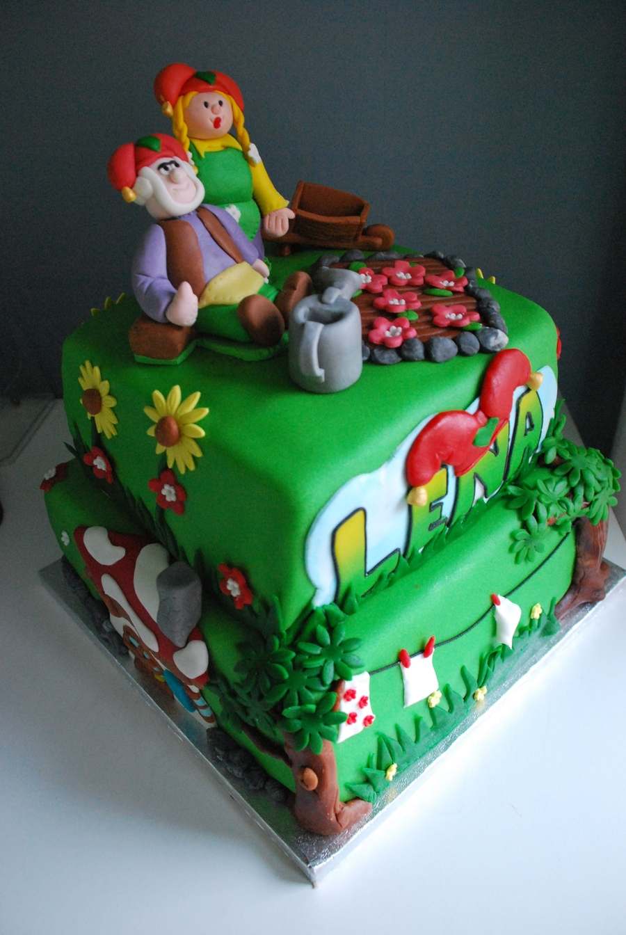 Kabouter Plop Taart on Cake Central