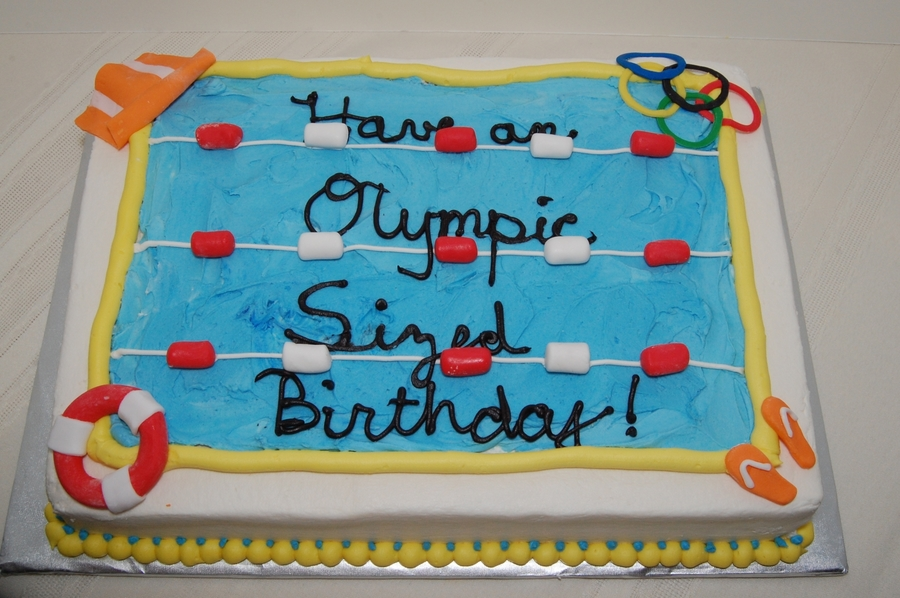 Olympic Birthday on Cake Central