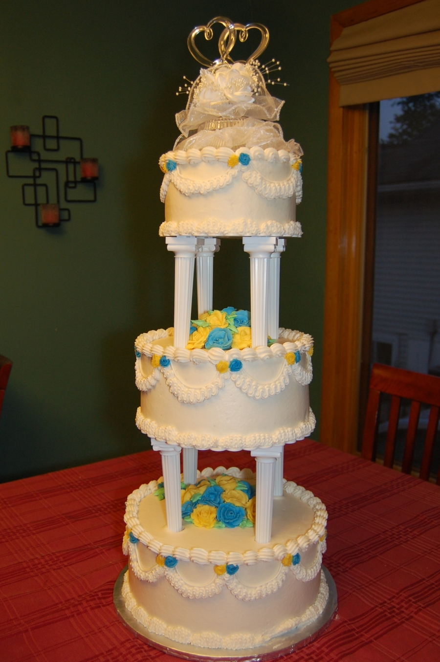 Replica Wedding Cake For 30Th Anniversary on Cake Central