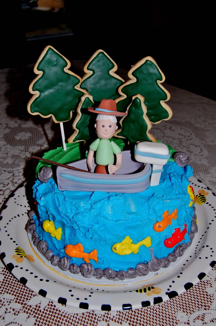Fishing Fun on Cake Central