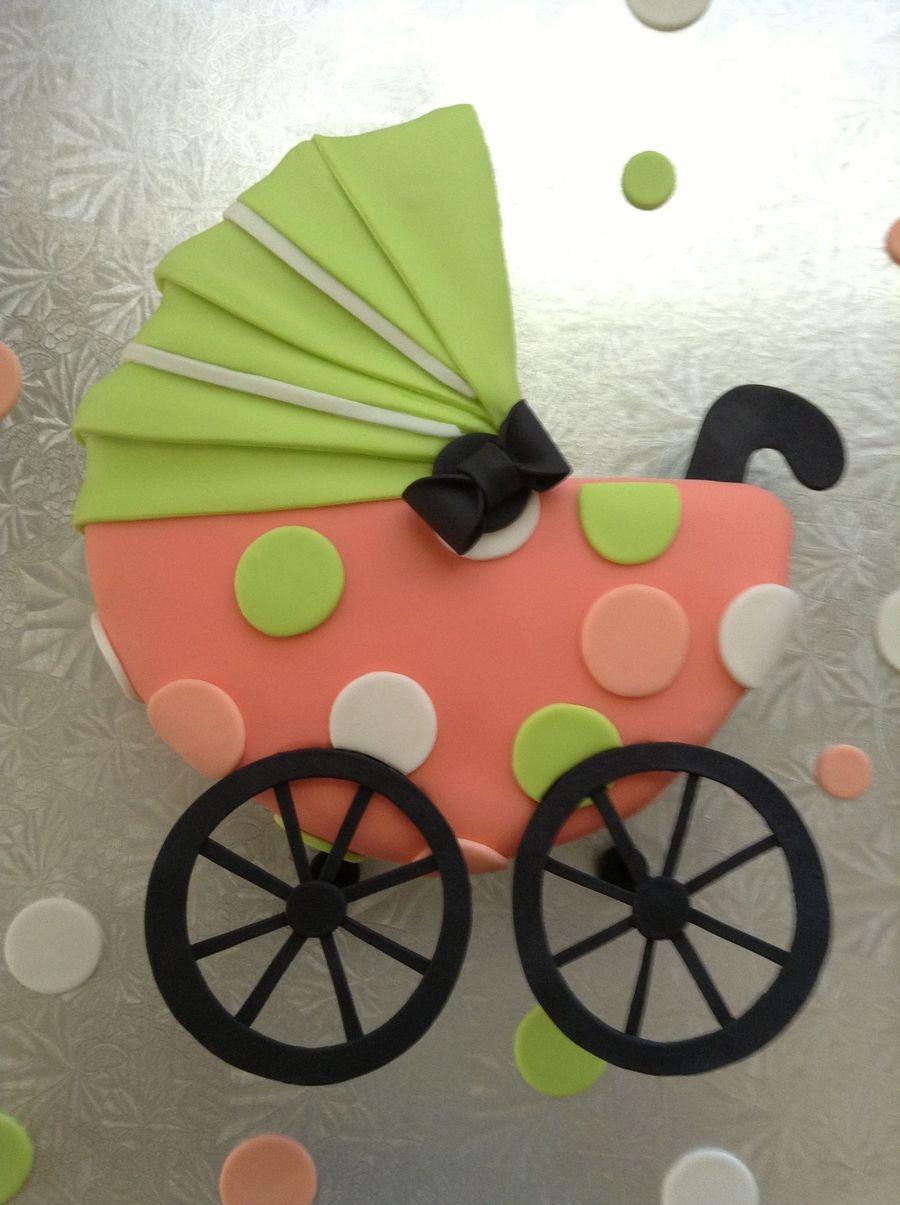 Baby Carriage Cake - CakeCentral.com