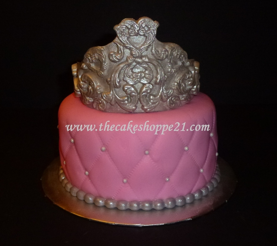 Princess Crown Cake Images : Princess Crown Cake - CakeCentral.com