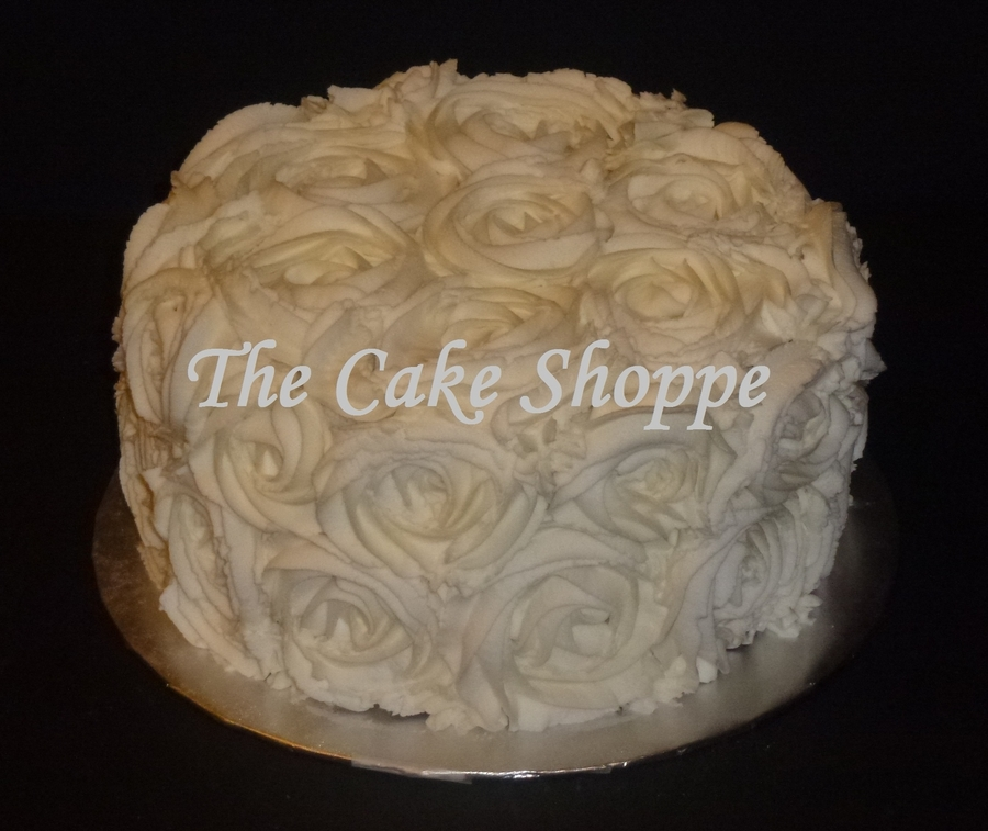 Buttercream Roses Cake on Cake Central