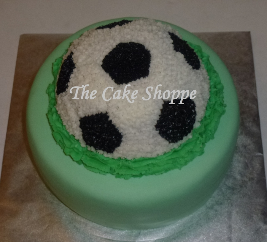 Soccer Ball Cake on Cake Central