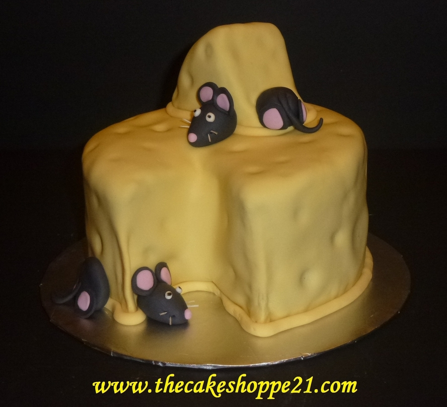 Mice And Cheese Cake on Cake Central