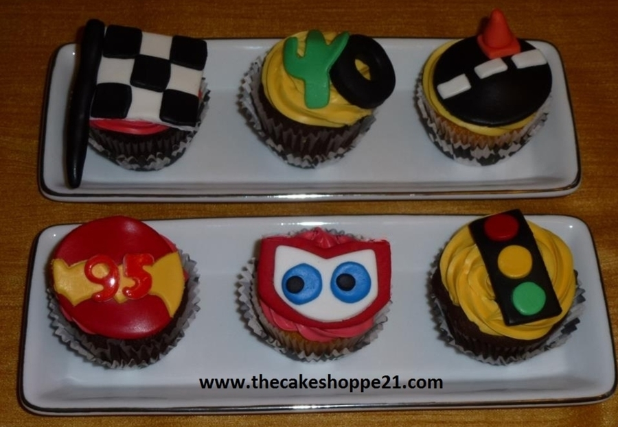 cars cupcakes how to make