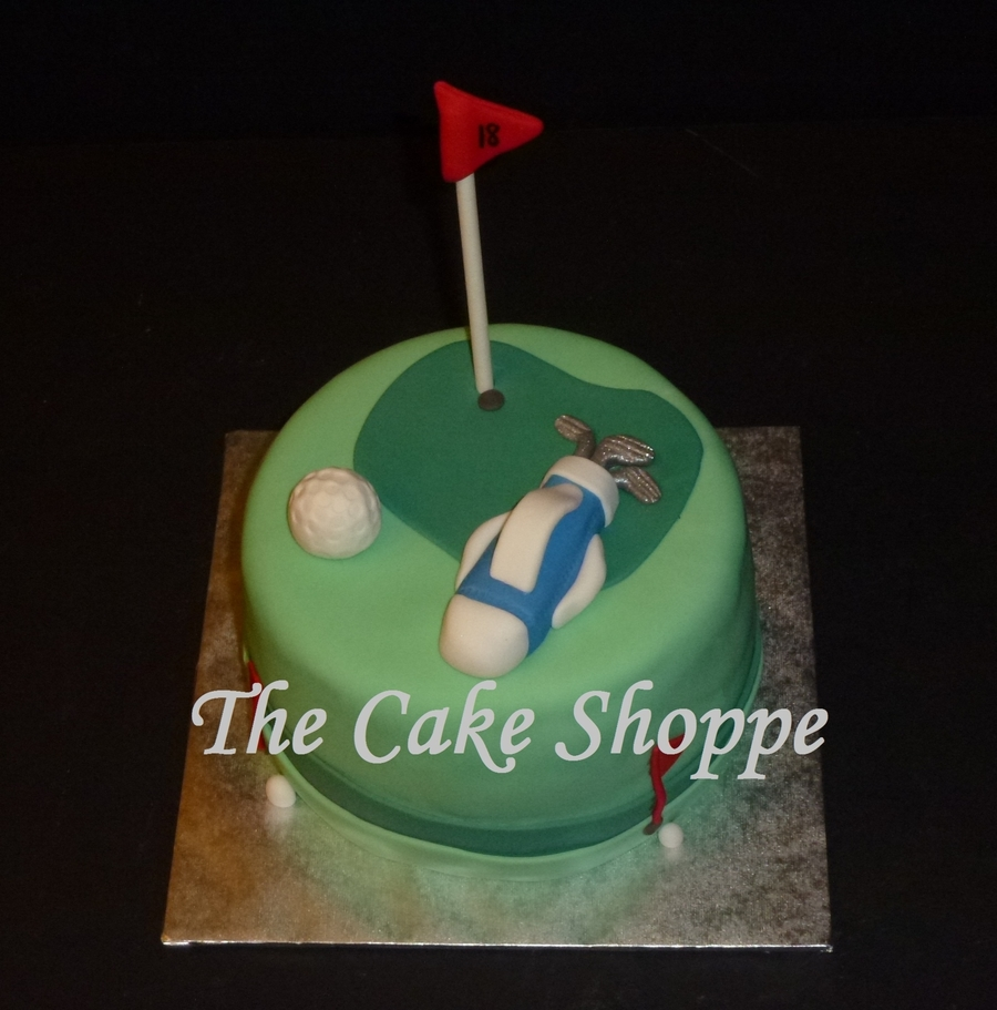 Golf Themed Cake on Cake Central