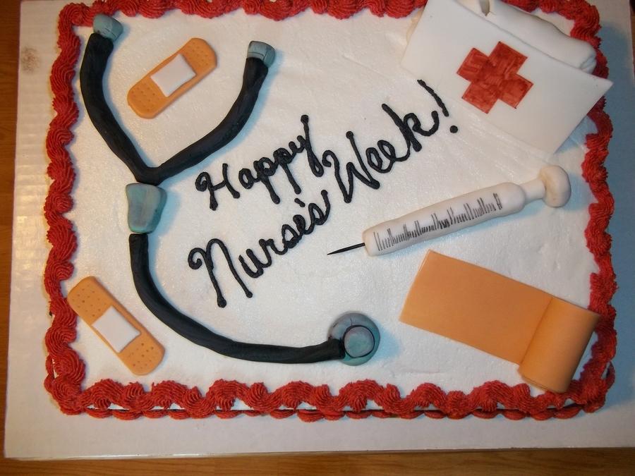Nurse s Week Cake - CakeCentral.com