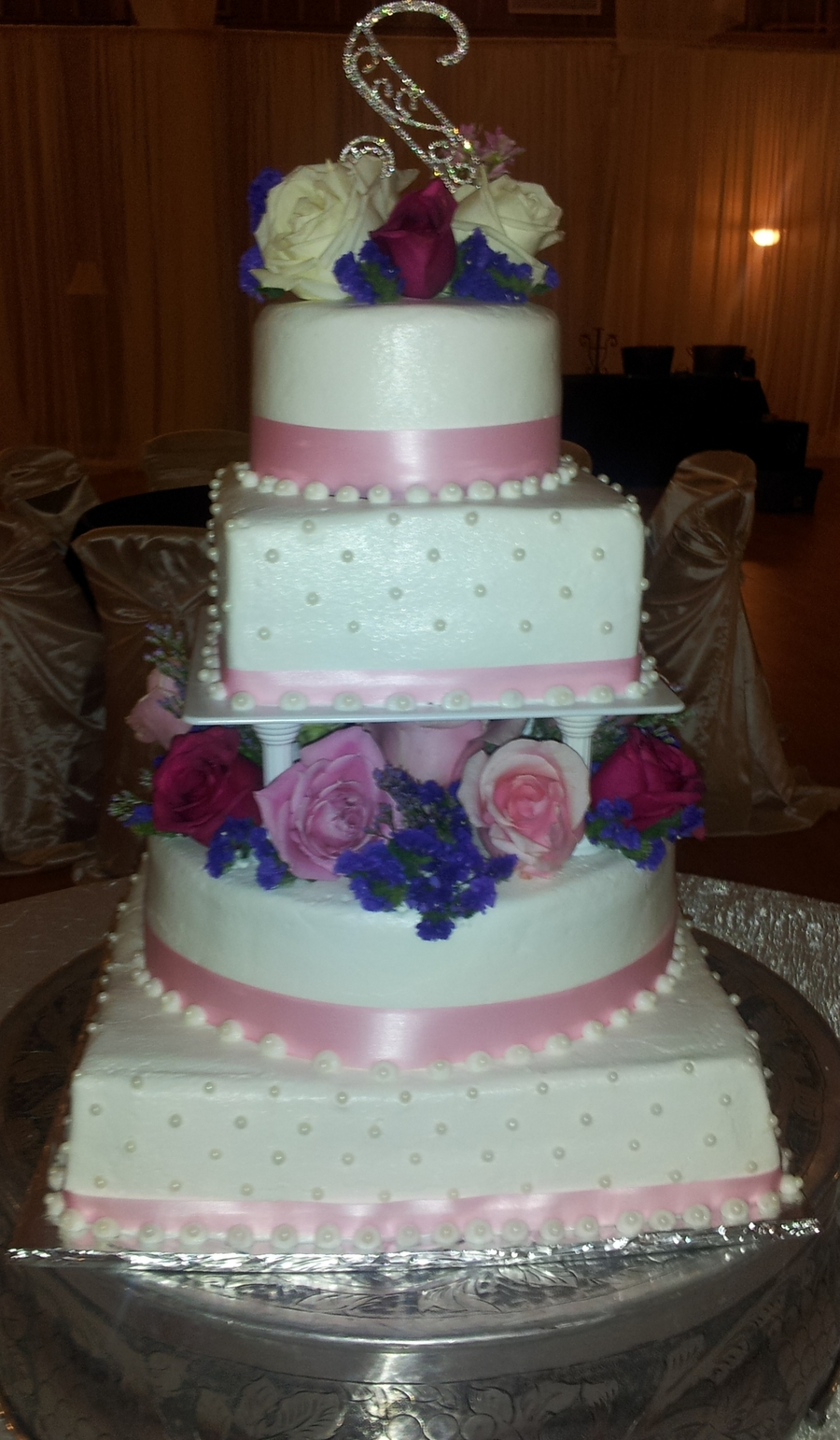 Wedding Elegance on Cake Central