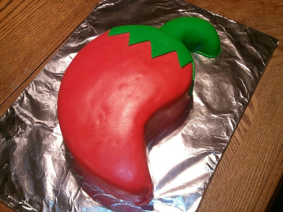 Chili Pepper on Cake Central