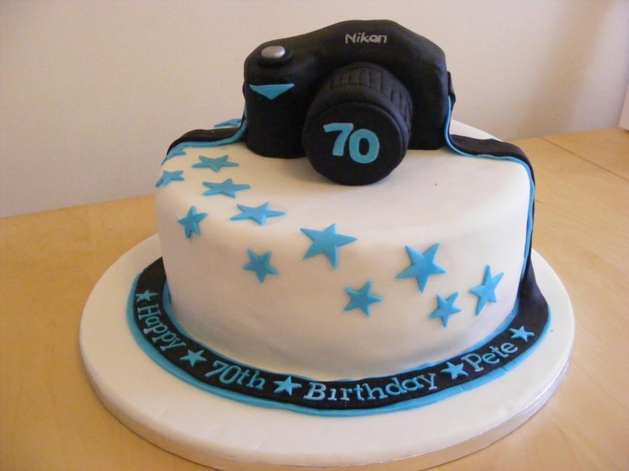 Enjoyable Camera Birthday Cake Cakecentral Com Funny Birthday Cards Online Barepcheapnameinfo