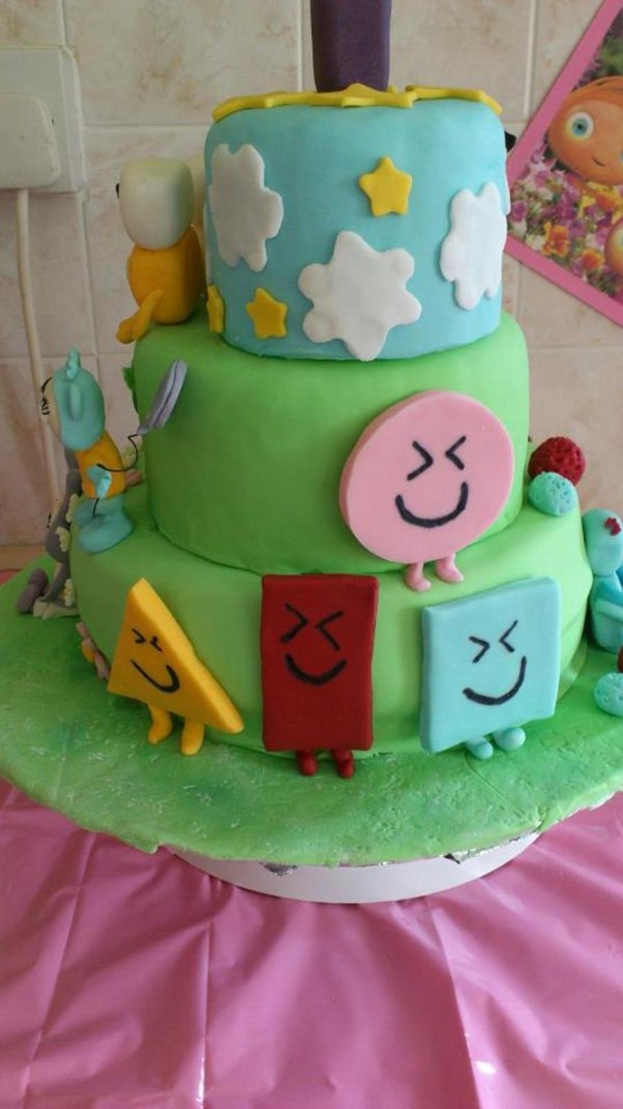 Cbeebies Birthday Cake Ideas