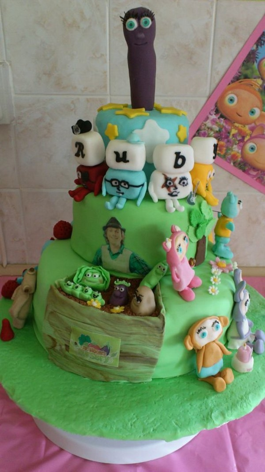 Cbeebies Cake For My Daughters First Birthday