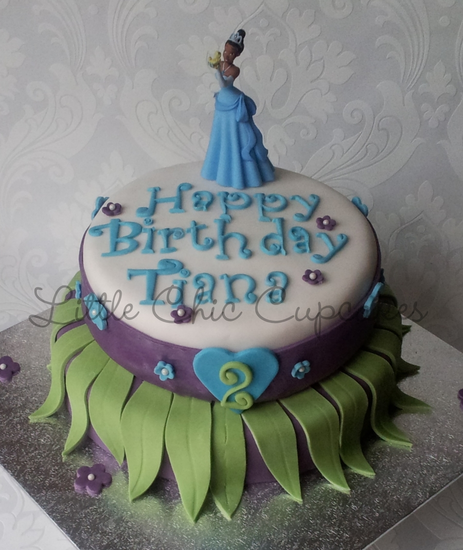 Disney Princess And The Frog on Cake Central